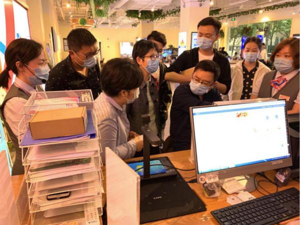 局机关第二支部与南京电信市场部党支部联合开展2020主题党日活动