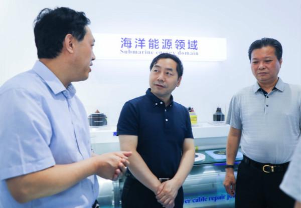 许继金局长赴中天科技2020调研